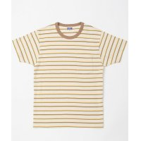 SALE 50%OFF RAGTIME TRIPLE THIN STRIPE PKT TEE